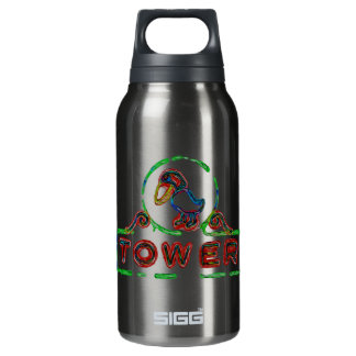 The Jayhawk Tower 10 Oz Insulated SIGG Thermos Water Bottle