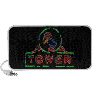 The Jayhawk Tower Mp3 Speakers