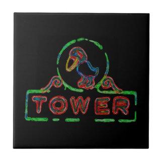 The Jayhawk Tower Tile