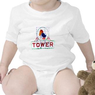 The Jayhawk Tower Baby Bodysuit