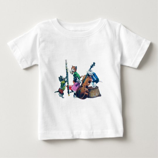 The Jazz Cats Band Baby T-Shirt
