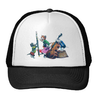 The Jazz Cats Band Trucker Hat