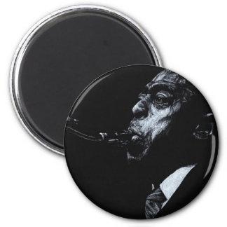 The Jazz Legend Archie Shepp 2 Inch Round Magnet