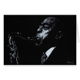 The Jazz Legend Archie Shepp Card