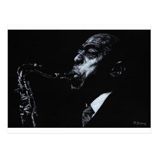 The Jazz Legend Archie Shepp Postcard