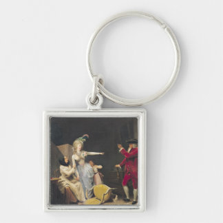The Jealous Old Man, 1791 Keychain
