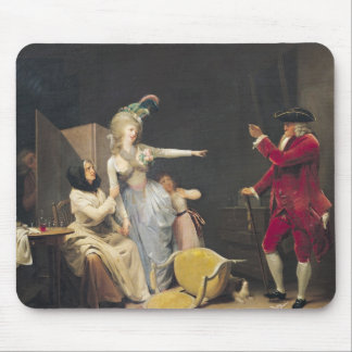 The Jealous Old Man, 1791 Mouse Pad