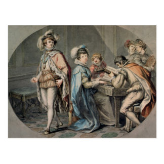 The Jealousy of Darnley Postcard