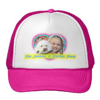 The Jeanne & Cotton Show Heart Sprinkles Logo Trucker Hat