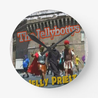 The Jellybottys Jelly Priest Song Dancing Romans Wall Clock