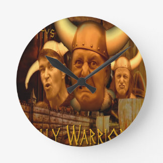 The Jellybottys Jelly Warriors Product Line Wall Clocks