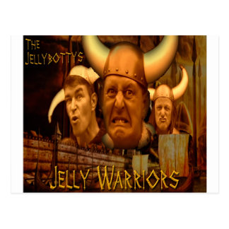 The Jellybottys Jelly Warriors Product Line Postcard