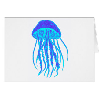 THE JELLYFISH BLEND GREETING CARD