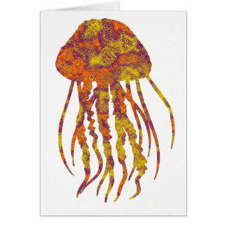 THE JELLYFISH CHANGES GREETING CARD