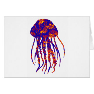 THE JELLYFISH LUCID GREETING CARD