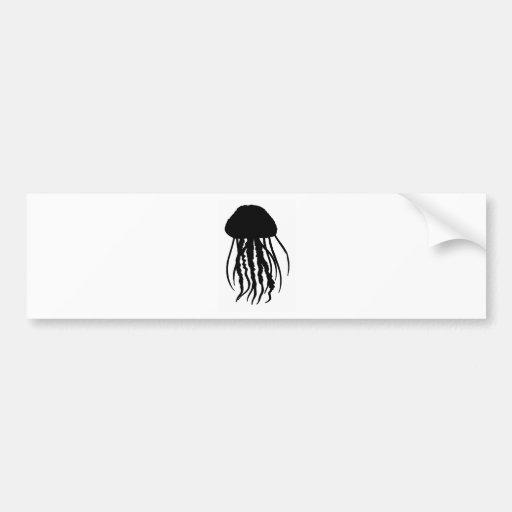 the JELLYFISH main Bumper Sticker