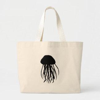 the JELLYFISH main Large Tote Bag