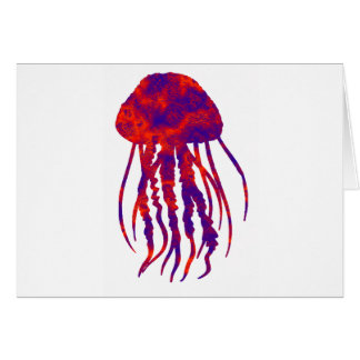 """THE JELLYFISH S""""YNDROME GREETING CARD"""