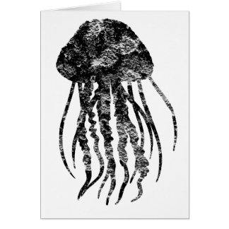 THE JELLYFISH SYNCH GREETING CARD