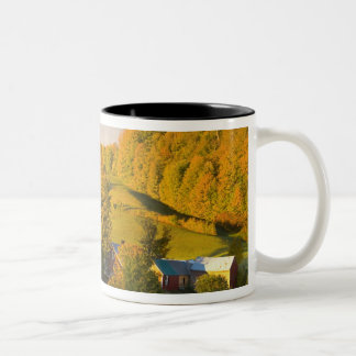 The Jenne Farm in Woodstock, Vermont. Fall. 2 Two-Tone Coffee Mug