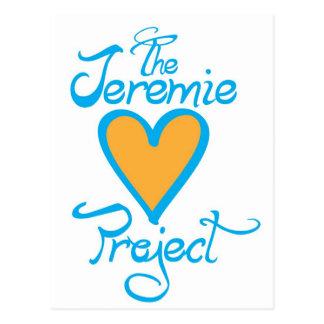 The Jeremie Project Merchandise Postcard