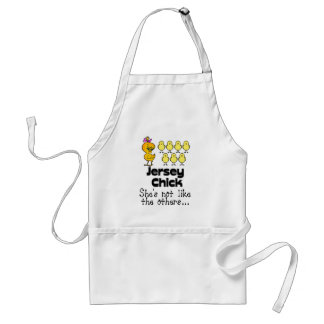 The Jersey Chick Adult Apron