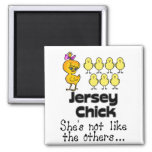The Jersey Chick Fridge Magnets