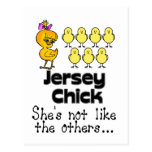 The Jersey Chick Postcard