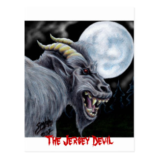 The Jersey Devil Postcard 2
