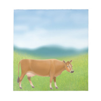 The Jersey Milk Cow Notepad