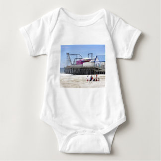 The Jersey Shore at Seaside Heights Baby Bodysuit