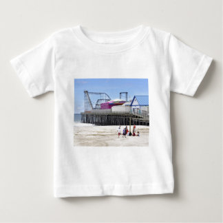 The Jersey Shore at Seaside Heights Baby T-Shirt