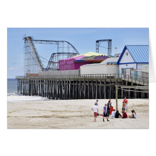 The Jersey Shore at Seaside Heights Card