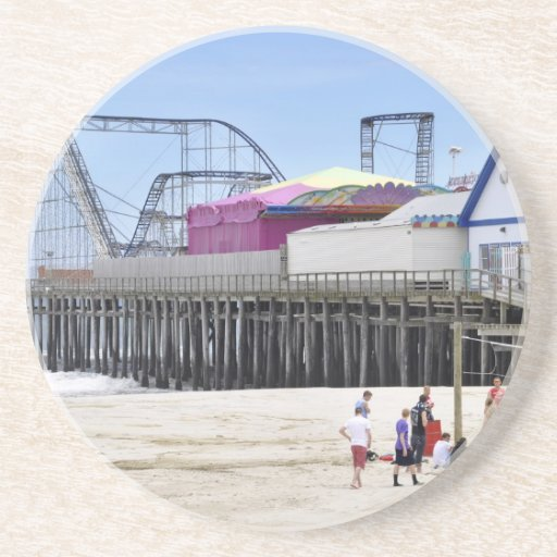The Jersey Shore at Seaside Heights Coaster