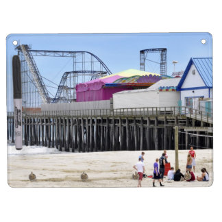 The Jersey Shore at Seaside Heights Dry Erase Board With Keychain Holder