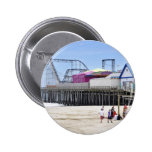 The Jersey Shore at Seaside Heights Pinback Button