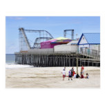 The Jersey Shore at Seaside Heights Post Card