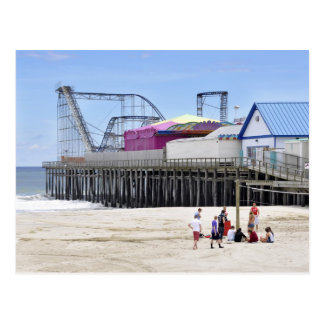 The Jersey Shore at Seaside Heights Postcard