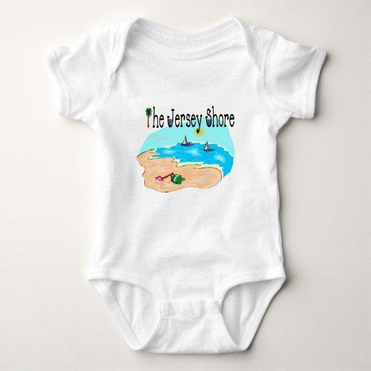 The Jersey Shore Baby Bodysuit