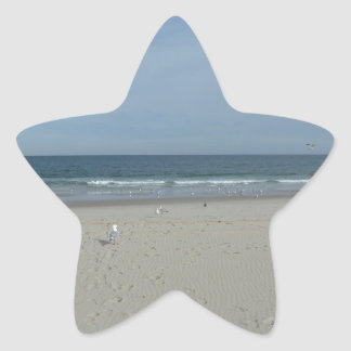 The Jersey Shore Star Sticker