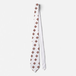 The Jerusalem Cross - Clear Back Tie