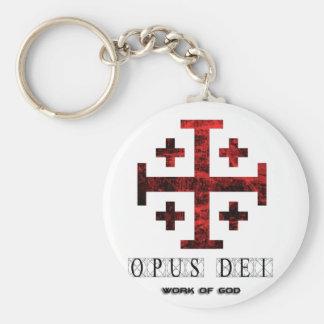The Jerusalem Cross - Opus Dei - Work Of God Keychains