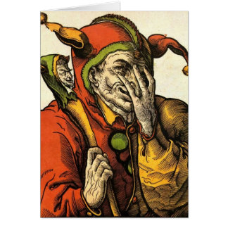 The Jester Greeting Card