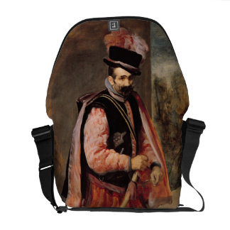 The Jester named 'Don Juan of Austria', c.1632/35 Courier Bag
