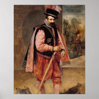 The Jester named 'Don Juan of Austria', c.1632/35 Poster
