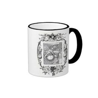 The Jester - Ornate Gothic Strange! Ringer Coffee Mug