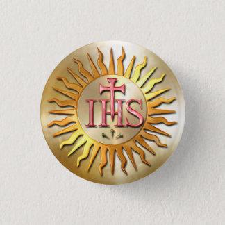 The Jesuit Seal Pinback Button