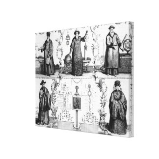 The Jesuits in China Stretched Canvas Prints