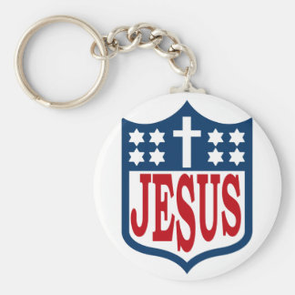 The Jesus Football League Keychain