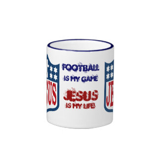 The Jesus Football League Ringer Mug